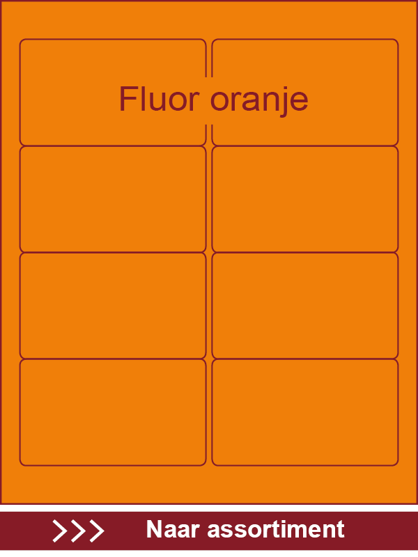 Fluor oranje
