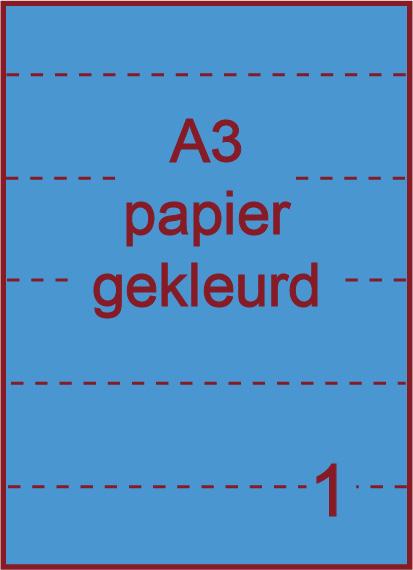 A3 Gekleurde etiketten