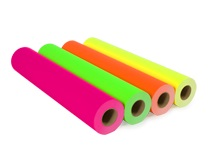 Fluor gekleurd Plotterpapier