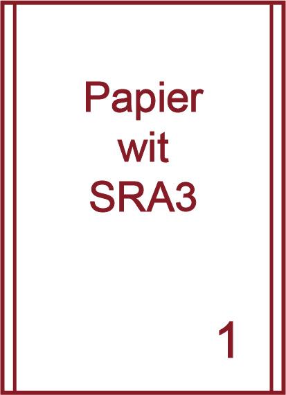 SRA3 Witte etiketten (papier)