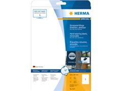 Etiket polyester wit mat AFNEEMBAAR 210x297 (1) ds20 vel A4 4577