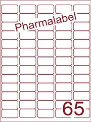 Etiket A4 Pharmalabel 38,1x21,2mm (65) ds1000vel A4 (A65-5)