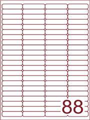 Etiket 48x12,7 (88) wit ds600vel A4