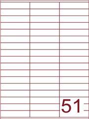 Etiket 70x16,9 (51) wit ds100vel (SC5620415)