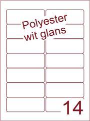 Etiket polyester wit glanzend 90x36 (14) ds100vel A4