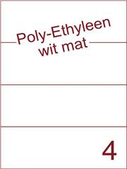 Etiket Poly-Ethyleen wit mat (4) 210x74,25 ds300vel A4 (PEH 4-1)