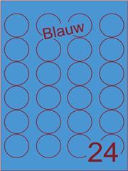 Etiket blauw rond ø40mm (24)ds200vel A4