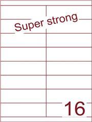 Etiket super strong 105x33,9 (16) ds500vel A4 (HG16-2B)