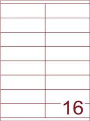 Etiket 105x35 (16) wit ds1000vel (HG16-2S)