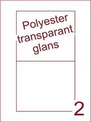 Etiket 135x122 (2) polyester Transparant glans ds100vel A4