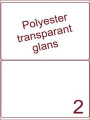 Etiket 200x143,5 (2) polyester Transparant glans ds100vel A4 (POA2-1)