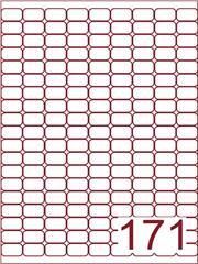 Etiket 20x15 (171) wit ds600vel A4
