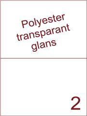 Etiket 210x148,5 (2) polyester Transparant glans ds100vel A4 (POH2-1)
