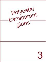 Etiket 210x99 (3) polyester Transparant glans ds100vel A4 (POH3-1)