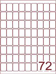 Etiket 22x34 (72) wit ds600vel A4