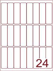 Etiket 25x90 (24) wit ds600vel A4