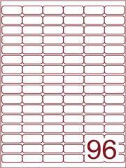 Etiket 32x16 (96) wit ds600vel A4