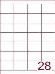Etiket 50x38 (28) wit ds600vel A4