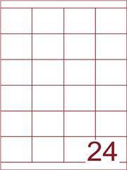 Etiket 50x45 (24) wit ds600vel A4