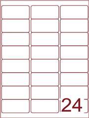 Etiket 63,5x33,9 (24) wit ds1000vel (A24-3)