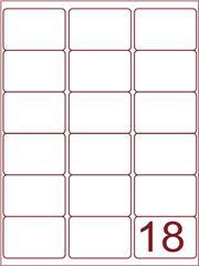 Etiket 63,5x46,6 (18) wit ds1000vel (A18-3)