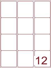 Etiket 63,5x72 (12) wit ds1000vel (A12-3)