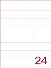 Etiket 70x35 (24) wit ds1000vel (HG24-3S)