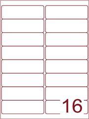 Etiket 99,1x33,9 (16) wit ds1000vel (A16-2)