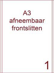 Etiket A3 wit papier afneembaar 287x420 ds 500vel 2 frontslitlijnen op 5 mm van de lange zijde (A3/1-1 FS)