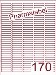 Etiket A4 Pharmalabel 38,1x8mm (170) ds1000vel A4 (A170-5)