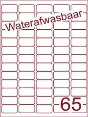 Etiket A4 waterafwasbaar 38,1x21,2 (65) ds 500vel (A65-5)