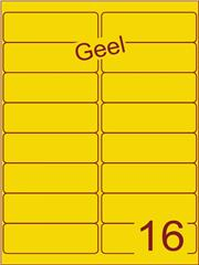Etiket geel 99,1x33,9mm (16) ds200vel A4