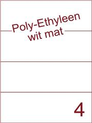 Etiket Poly-Ethyleen wit mat (4) 210x74,25 ds300vel A4 (PEH 4-1)