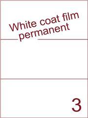 Etiket Whitecoat film wit mat 210x99 (3) dsds300vel A4 (WFH 3-1)
