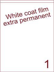 Etiket Whitecoat film WFC 200 wit mat Super permanent 210x287 (1) ds300vel A4 (WFHG 1-1S)