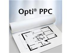 75gr 297mm 175m/rol wit ongecoat plotterpapier PPC Optiplot